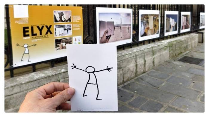 Elyx ouvre l'expo rue de Bretagne